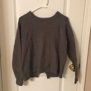 Madewell Open Back Sweater